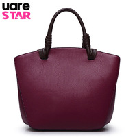 Women Genuine Leather Handbags Vintage Designer Handbags High Quality Shoulder Bags Ladies Hand Bags Bolsos Mujer