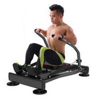 170610 Hydraulic Rower Multi Function Rowing Machine Abdominal Fitness Equipment Home Training Exercise Abdominal Muscle