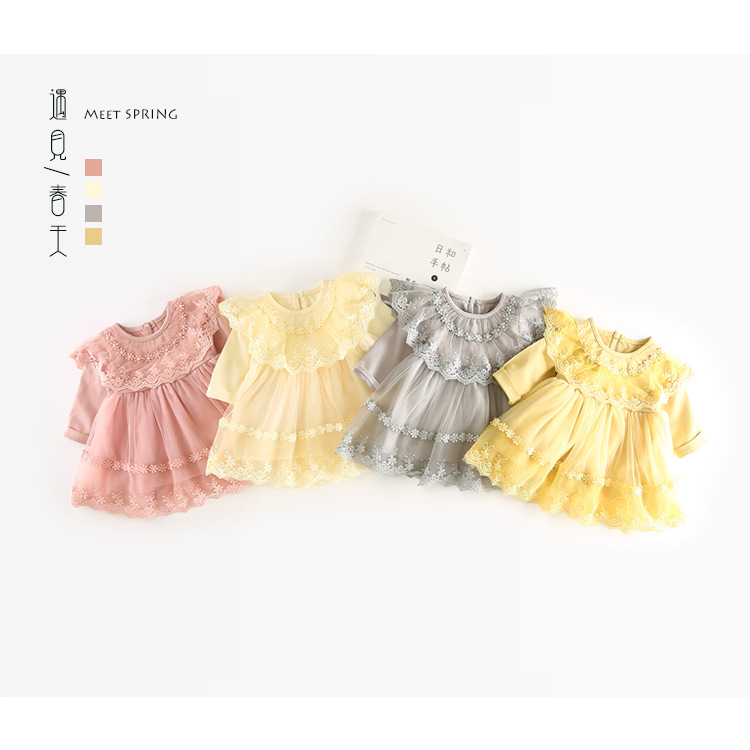 1 Year Birthday Baby Girl Dresses for Baptism Baby Girl Christening Gowns Wedding Party Pageant Lace Dress Newborn Toddler Bebes new baby girl clothing sets lace tutu romper dress jumpersuit headband 2pcs set bebes infant 1st birthday superman costumes 0 2t