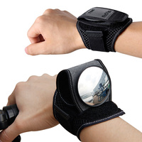 Bicycle Rear View Vision Wrist Guards Bike With Safety Reflective Mirror Riding Rearview Bike CycllingWristband Back Mirror bike bike bike back mirror bike back -