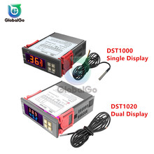 DST1000 Outdoor Digital Thermostat Thermometer Temperature Seneor Controller Meter 1M-3M Waterproof Probe Cable