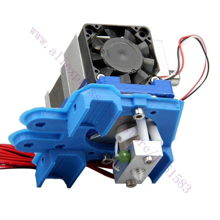 RepRap Makerbot MK8 GT2 Extruder with Stepper Motor for Makerbot Prusa Mendel i2&i3, 0.35mm Nozzle 5pcs nema 14 stepper motor 25 5oz in 18ncm 5 4v 0 8a bipolar 3d printer makerbot 3d printer prusa makerbot reprap cnc robot