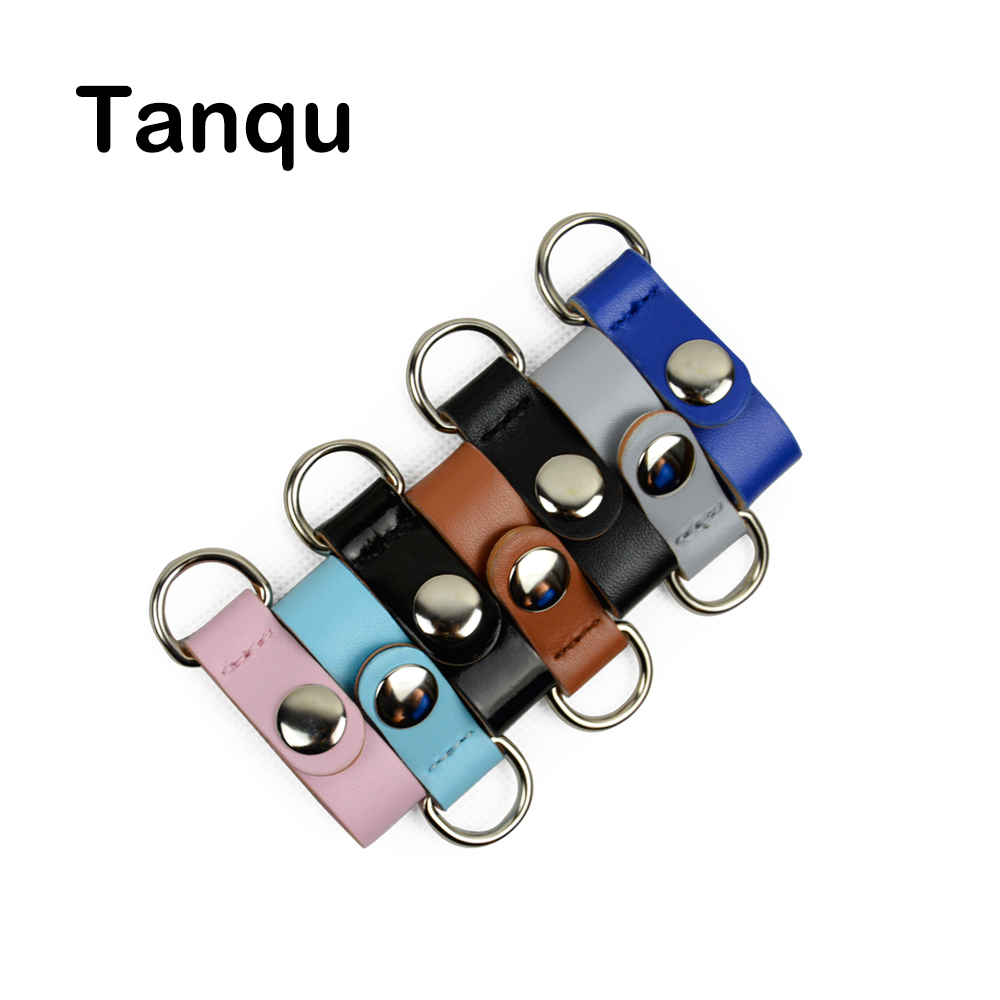 TANQU New 1 Pair 2 Piece  Clip Closure Attachment For Obag Faux Leather Strap Hook Clip For Opocket O Bag