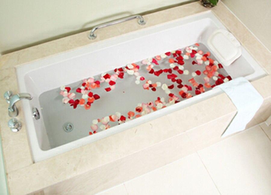 Stks partij interieur badkamer deco badkamer bad kussen bad