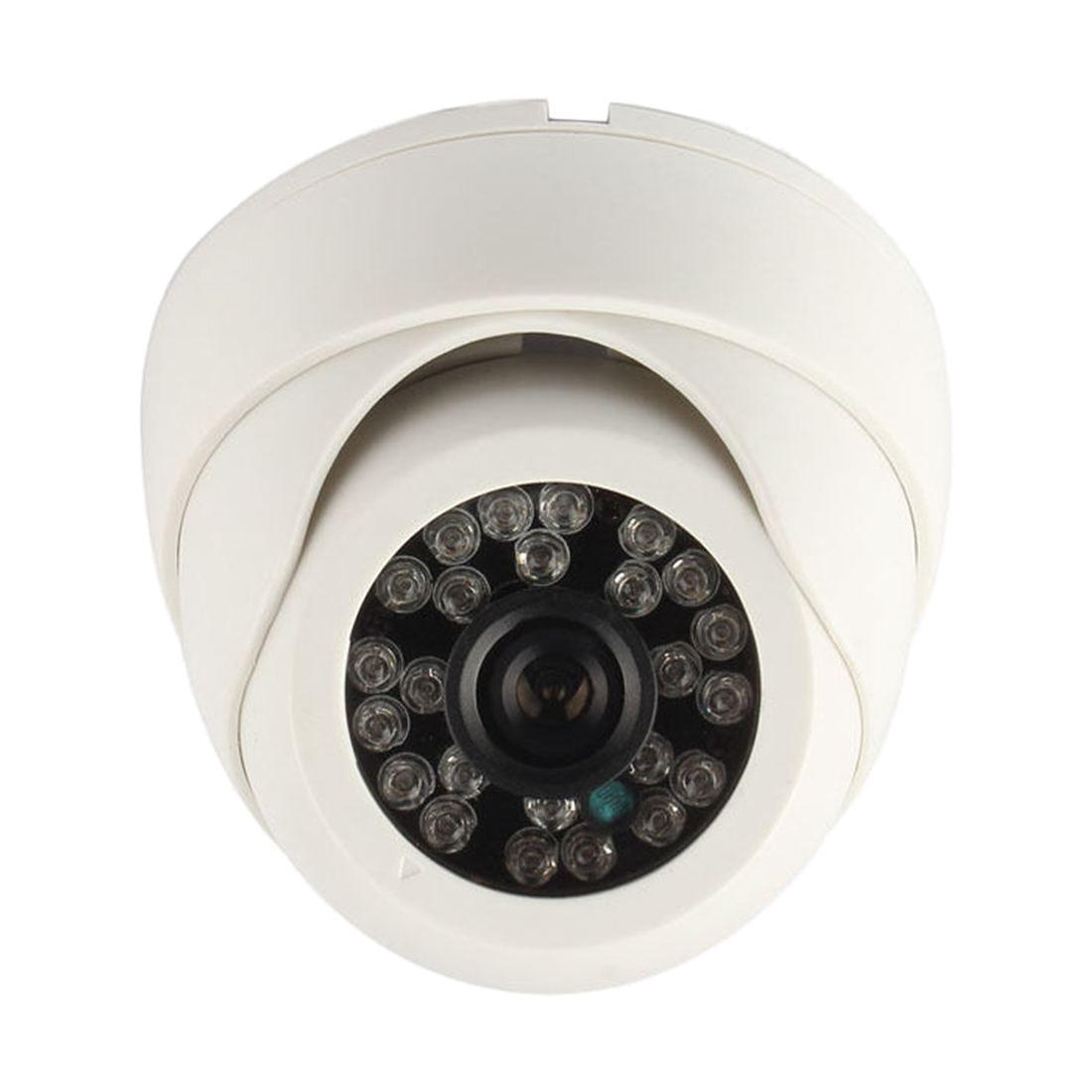 5 Packs 700TVL CMOS CCTV Surveillance Home Security 24IR Camera Dome Day Night VisionTelevision Standards:PAL 2 packs black surveillance camera pal 1 3 cmos 700tvl 24 led ir cut 3 6mm security indoor dome cctv camera