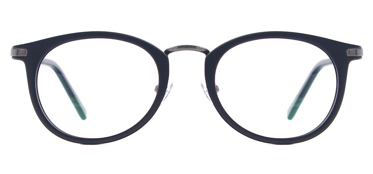 Image 2 - Мужские и женские легкие винтажные очки круглые пластиковые металлические очки для линз по рецепту-in Мужские очки кадры from Аксессуары для одежды on AliExpress - 11.11_Double 11_Singles' Day