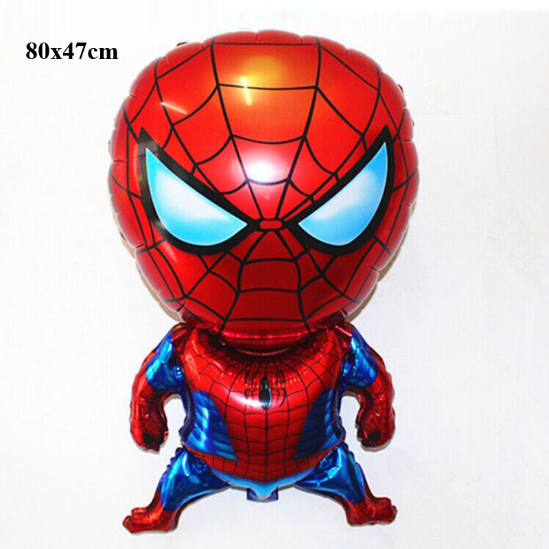 classic toys air balloons birthday party decoration wedding superhero balloons spiderman party decorations foil balloons