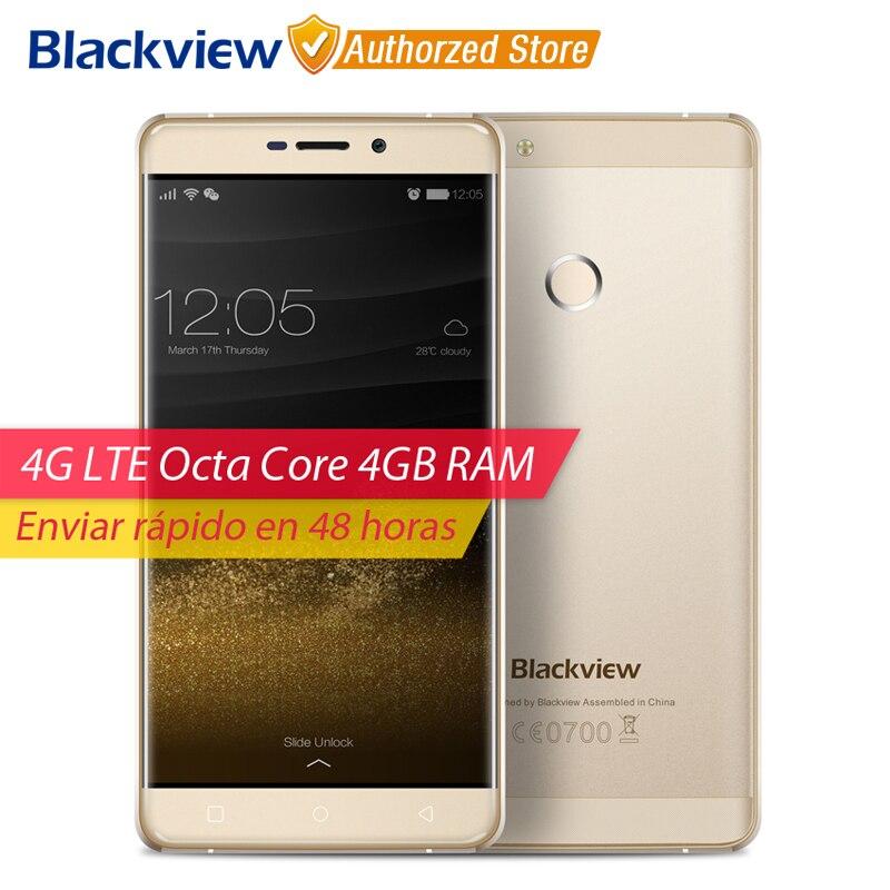 Цена за Blackview r7 4g мобильный телефон 5.5 дюймов fhd mtk6755 octa ядро Android 6.0 4 ГБ RAM 32 ГБ ROM 13MP Cam Отпечатков Пальцев ID Смартфон