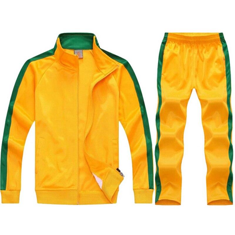 Fotbalový trénink Oblečení Muži Fotbalová tepláková souprava Vlastní tým Teplý Survetement Chandal Topy Kalhoty Sportovní oblečení Hraje Oblečení