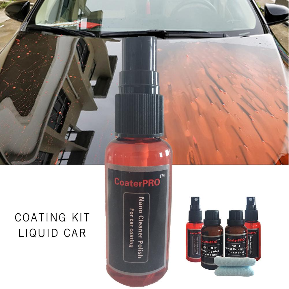 9H PRO And 10H Multi-Functional Nano Liquid Ceramic Glass Coating For Car Paint Car Windshield Auto Wheel Rim Nanotech