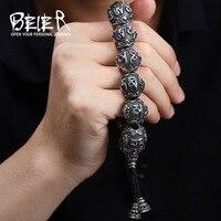 Beier 316L Stainless Steel bracelet Men's High Polished Buddhism Mantra bracelet Bring Lucky Jewelry LLBC8 029R