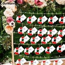 OurWarm ouvre bouteille de sauvetage, bouée de sauvetage, thème nautique, réception prénatale, cadeaux de mariage, décorations, bricolage, 20 pièces