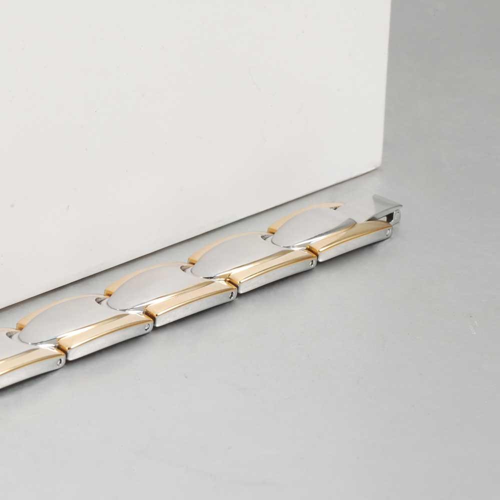 Vinter magnetiske armbånd mænd rustfrit stål magnet ion tysk - Mode smykker - Foto 3