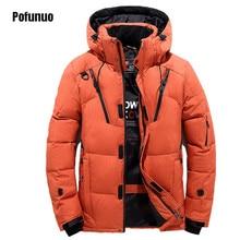 2017 Winter Male down jacket Thick Short Jacket Men Down Coat Warm Parkas Cotton-padded Jackets design Men's Snowwear Outerwear