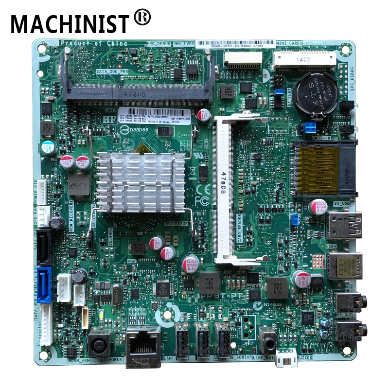 "For HP 19-2 20-2 20"" AIO IPPBT-PT Desktop Motherboard MB J2850 CPU DDR3 739692-002 739692-502 739692-602 100% Fully Tested"