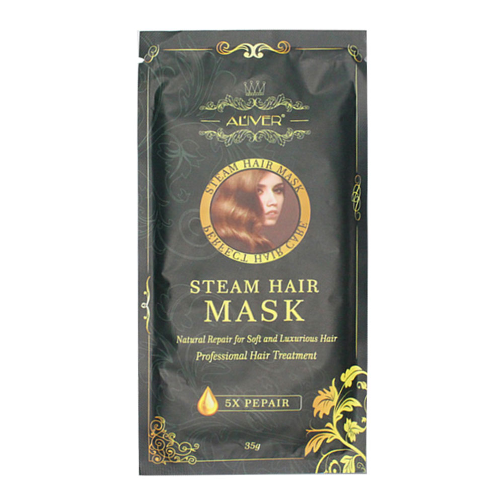 Women Olive Oil Automatic Heating Deep Nourishes Repair Moisturizing Hair Mask Damaged Maintenance Smooth Steam Hair Care