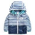 Дети верхняя одежда свободного покроя с капюшоном плащ детская одежда водонепроницаемый и ветрозащитный мальчики куртки для возраста 2 - 8 т весна и осень