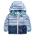 Children Outerwear Casual Hooded Raincoat Kids Clothes Waterproof and Windproof Boys Jackets For Age 2-8T Spring and Autumn