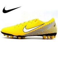 Оригинальный NIKE VAPOR 12 Академии NJR AG R Для Мужчин's Обувь для футбола футбольные бутсы SneakersOutdoor Спорт Дизайнер Атлетикс официальный