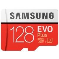 SAMSUNG Originale Micro SD card 128 GB u3 Scheda di Memoria 128gb EVO Più sdhc u3 c10 Carta di TF C10 90 MB/S MICROSDXC UHS-1 Trasporto Libero