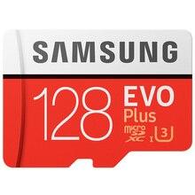 סמסונג המקורי מיקרו SD כרטיס 128 GB u3 זיכרון כרטיס 128gb EVO בתוספת sdhc u3 c10 TF כרטיס C10 90 MB/S MICROSDXC UHS 1 משלוח חינם