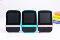 Fashion 1.5 inch TFT Screen 8GB HIFI watch mp3 player smart back clip Sport Watches MP3 player with FM radio Pedometer