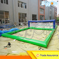 Sea Shipping 11x4.5x1.2m Inflatable Water Volleyball Court Field For Sale