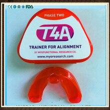MRC стоматологический тренажер для зубов T4A Фаза 2/Myobrace T4A тренажер для выравнивания/MRC ортодонтический тренажер T4A красный
