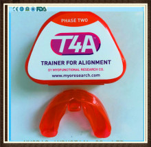 MRC Dental Teeth trainer T4A Phase 2/Myobrace T4A Trainer Alignment/MRC Orthodontic Trainer T4A Red malocclusion orthodontic trainer t4a mrc orthodontic brace t4a t4a teeth trainer retention alignment