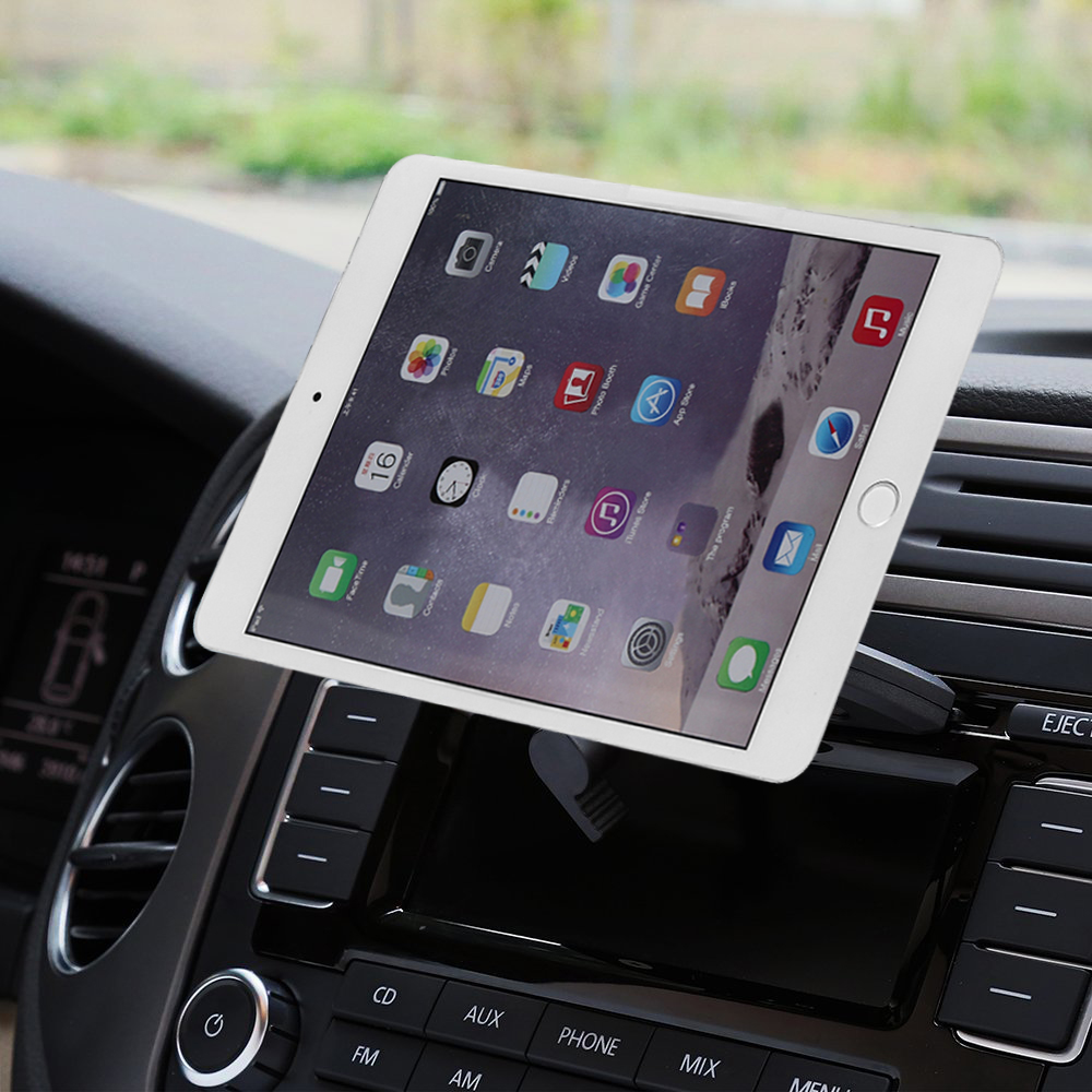 Magnetic Adsorption Tablet Car Holder CD Slot Mount For IPad 2018 / Air 2 Tablets Holder Stand For IPad Pro 9.7/10.5
