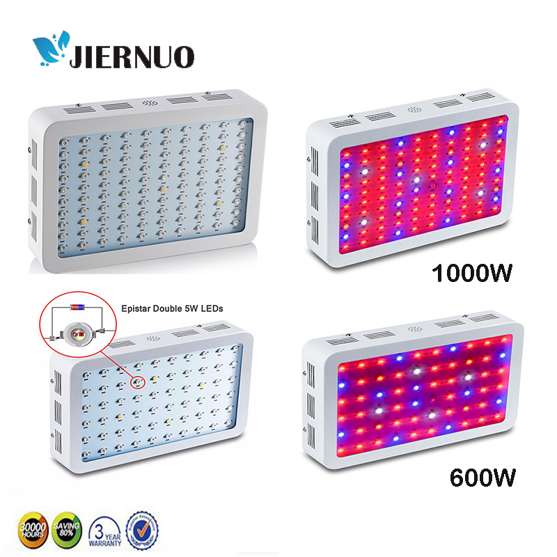 Здесь продается  Double Chips Fitolampa 1000W 600W 450W 300W LED Grow Light Full Spectrum Red/Blue/White/UV/IR For hydroponics and Plants AE  Свет и освещение