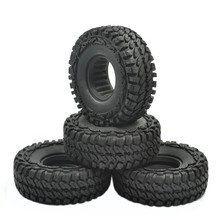 4pcs 114mm RC Crawler Car Tires Tyre for 1/10 1.9 Inch Wheels