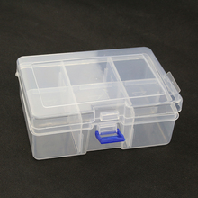 6grid Storage Box Case Holder Container for Pills Jewelry Nail Art Tips Organizer for Raspberry Pi for Arduino