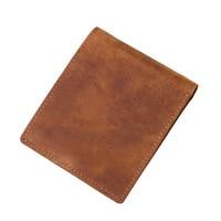 JOYIR Marke Echtem Leder Männer Brieftasche Retro Kurze Geldbörse Mode Kupplung Geld Halter ID Kreditkarte Halter Leder Brieftasche-in Geldbeutel aus Gepäck & Taschen bei