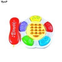 اللعب الموسيقية التعليمية التعلم المبكر لعب الأطفال الموسيقية الإلكترونية صوت الهاتف لعبة الهاتف المحمول الهاتف للأطفال الطفل