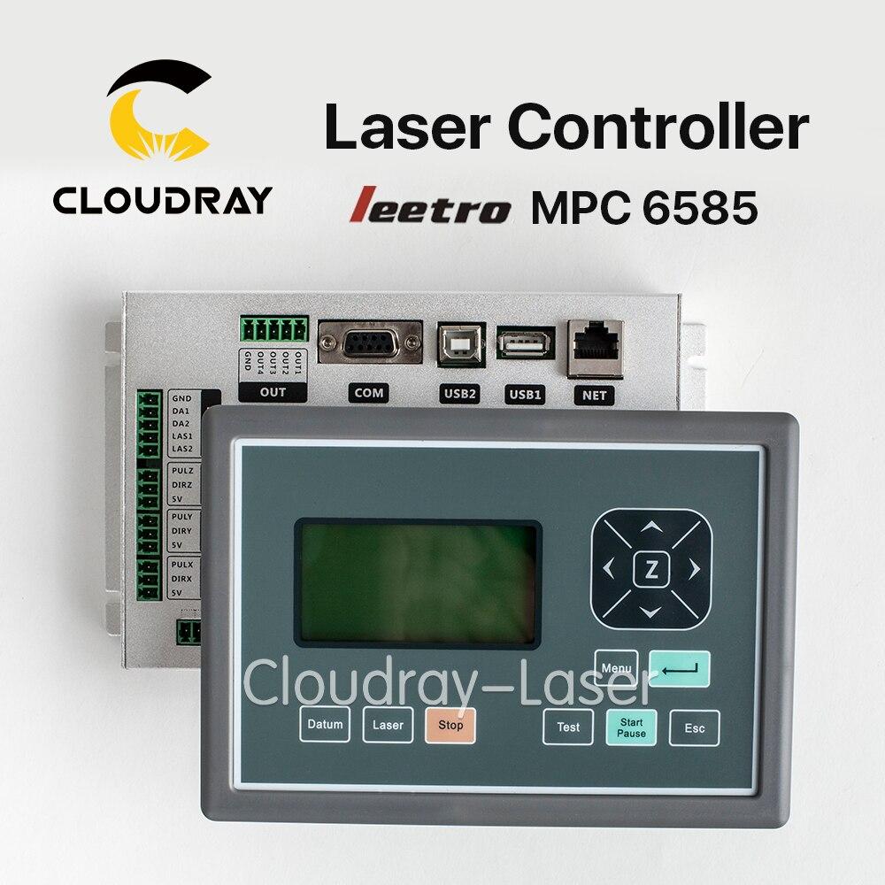 Cloudray Leetro MPC 6585 Co2 Laser DSP Controller for Laser Engraving and Cutting Machine кухонный смеситель omoikiri tateyama s gr латунь гранит leningrad grey 4994176