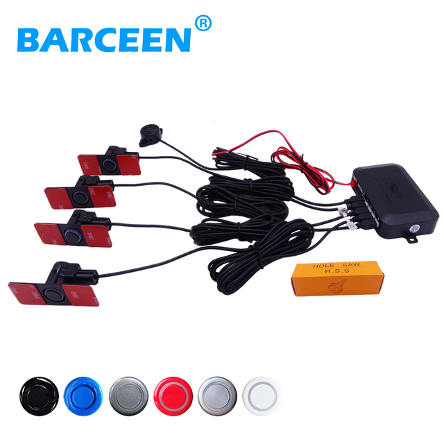 Auto car parking sensor 6 color available shock-proof with Radar Alarm System and  Sound Alert Indicator supply from stock