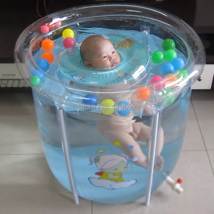Transparent Mount Baby Swimming Pool Paddling Pool Baby