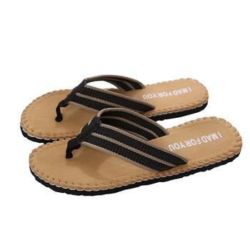 SIKETU Men Flip Flops Summer Beach Sandals Slippers for Men Flats High Top Non-slip Shoes Male Men Sandals Indoor&Outdoor A30 1