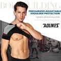 Adjustable Right Left Single Shoulder Bandage Shoulder Posture Therapy Injury Arthritis Pain Gym Sports Bandage