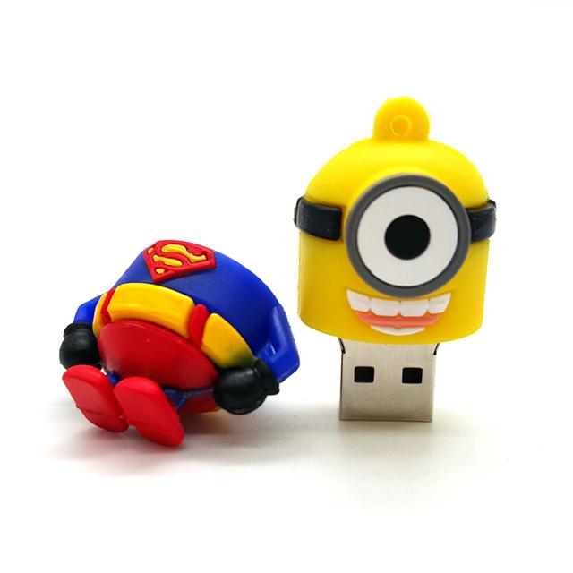 Easy Learning Superhero Minions USB