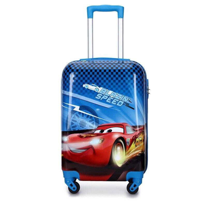 Nouveau bagage de chariot de bande dessinée d'enfants bagage de voyage imprimé 20