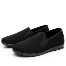STEPREACH Brand Unisex Black Chinese Cotton-made shoes for Martial Art Kung Fu wushu Tai Chi Slipper Bruce Lee men shoes sapatos