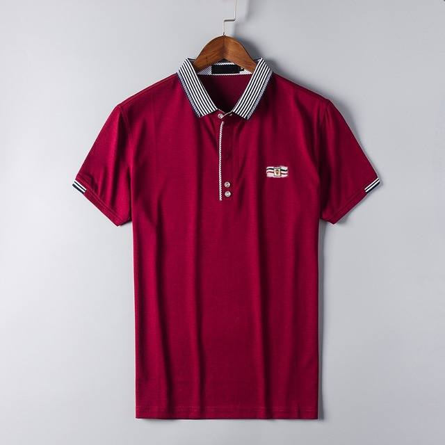 2016 Повседневная Регулярный 2017 Новый Бренд Одежда Solid Polo Shirt Мужчины Досуг Поло С Коротким рукавом Высокого Качества Плюс Размер дышащая