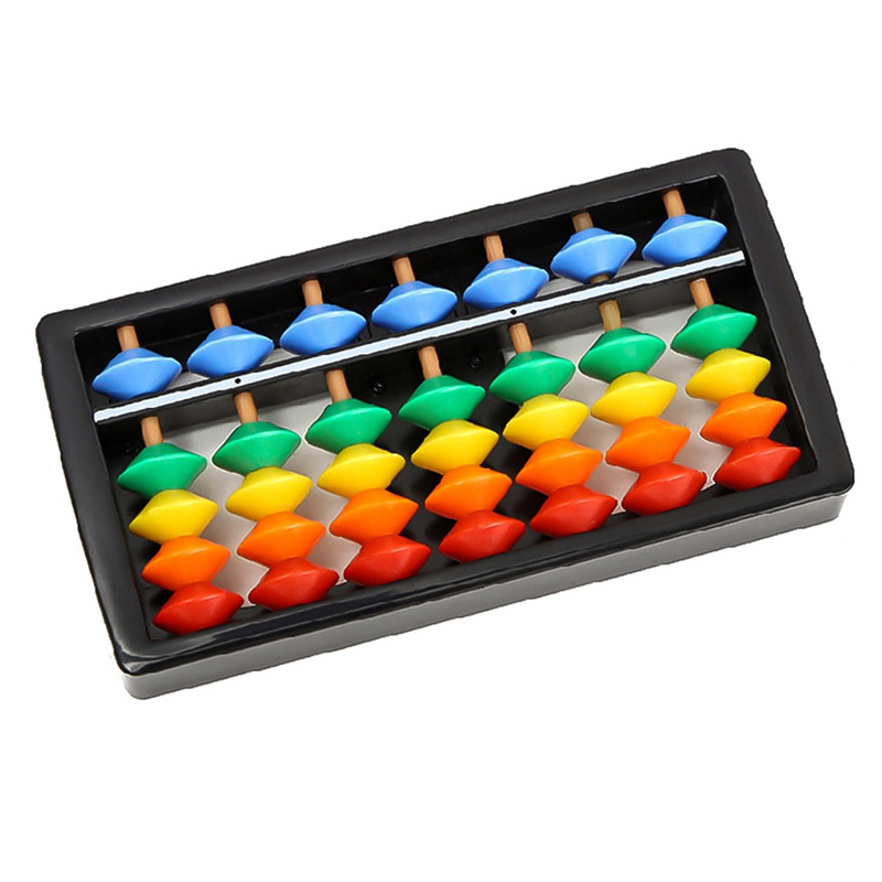 Colorful Abacus Arithmetic Maths Calculating Tools Educational Toy For Children(China)