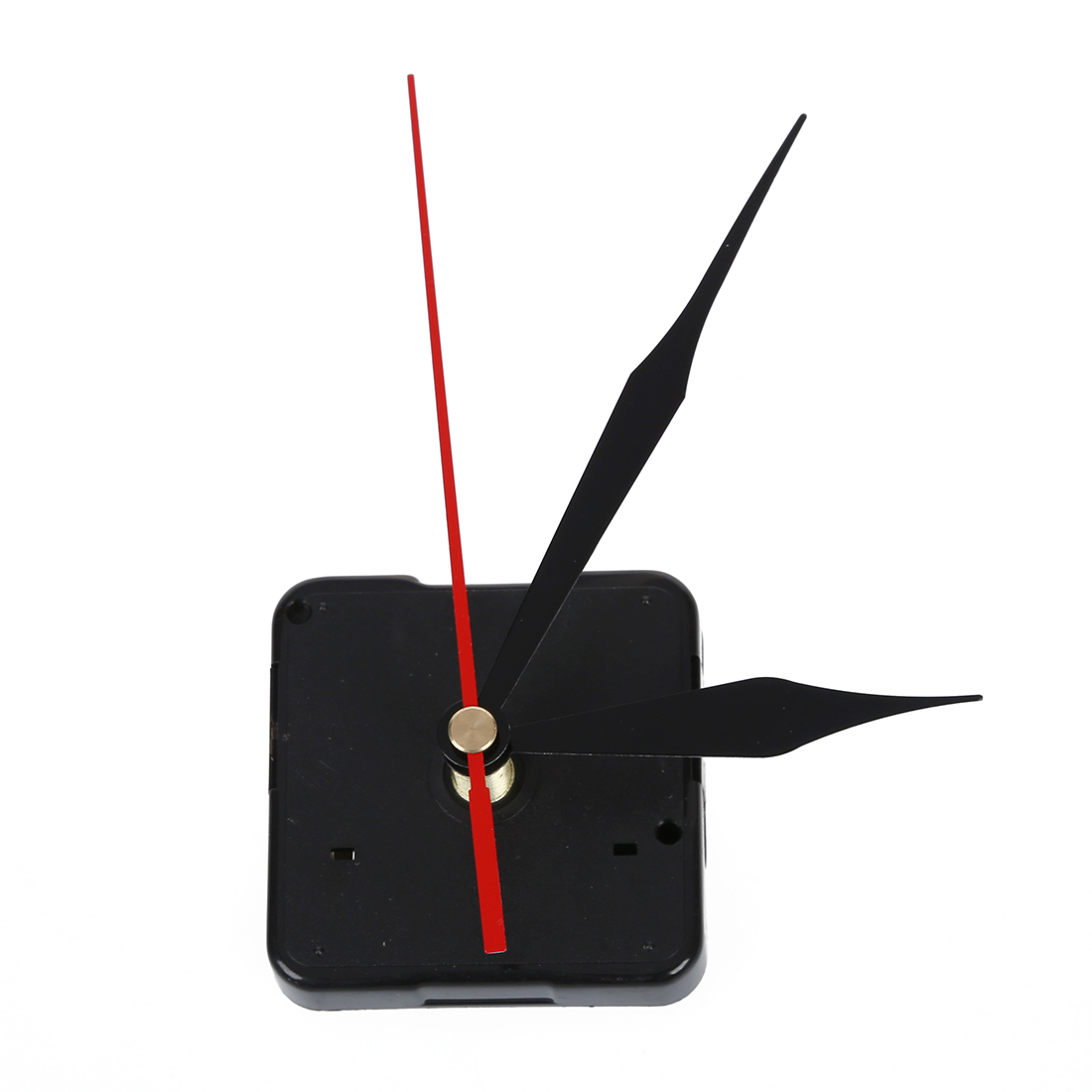 Clock Movement Mechanism Black Hour Minute Red Second Hand DIY Tools Parts