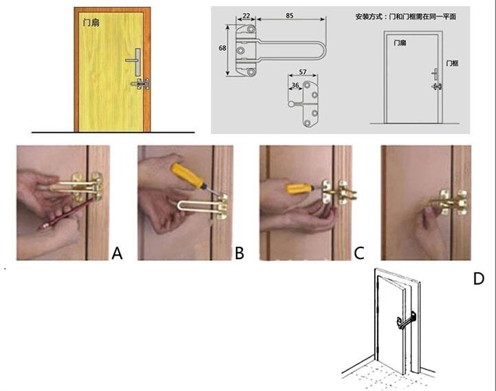 Images of Chain Locks For Doors - Woonv.com - Handle idea