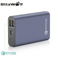 BlitzWolf BW P3 Original Universal 10000mAh 18W QC3.0 Quick Phone Charger 3.0 Dual USB Port Power Bank External Battery