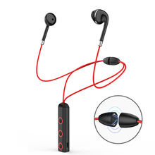 Bluetooth headphones wireless sports bluetooth 4.1 magnetic earphone stereo headset with microphone