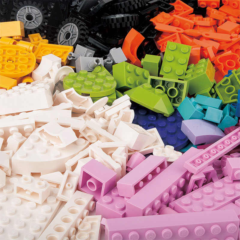 New 460pcs design creative classic brick DIY city compatible legoin blocks educational toy model children's gifts toys blocks